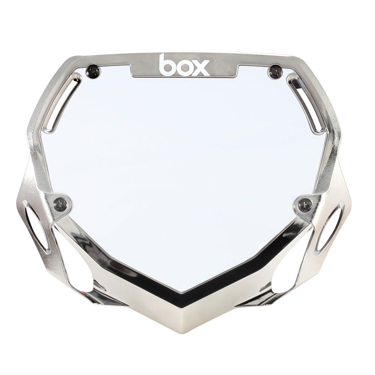 BOX TWO CHROME NUMBER PLATE PRO