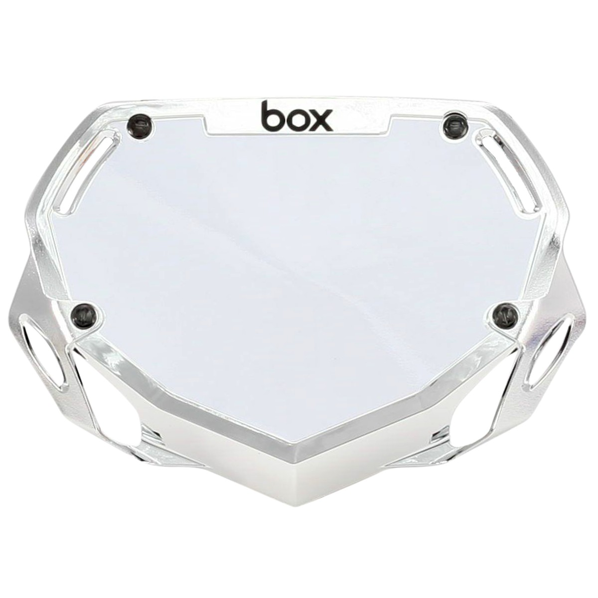 BOX TWO CHROME NUMBER  PLATE EXPERT MINI
