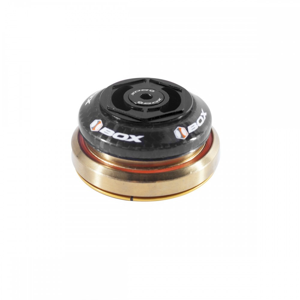 """BOX ONE CARBON SEALED INTEGRATED 45X45 1.5"""" TAPERED HEADSET"""
