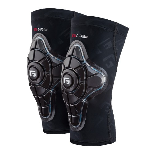 G-FORM PRO-X KNEE PADS TEAL CAMO / BLACK