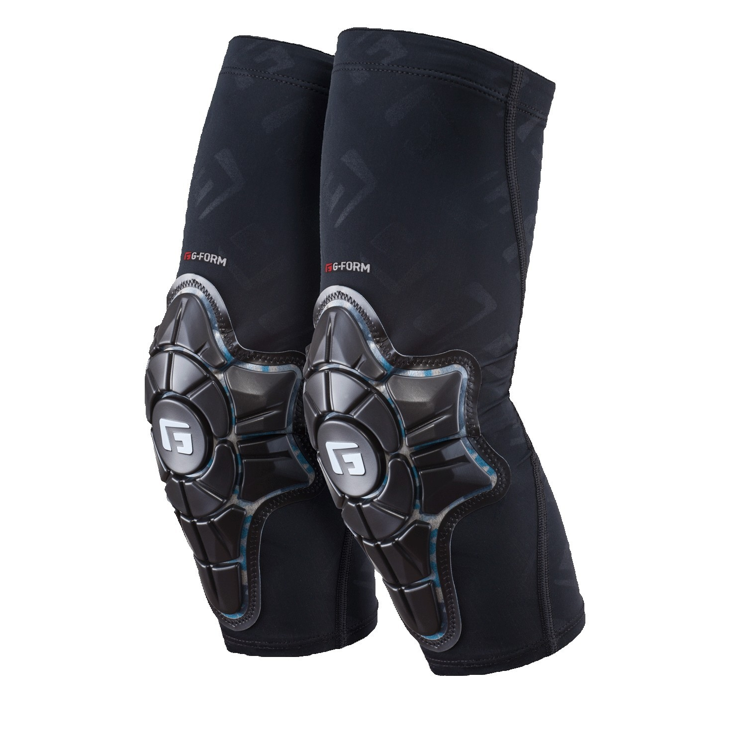 G-FORM PRO-X ELBOW PADS YOUTH BLACK / TEAL CAMO