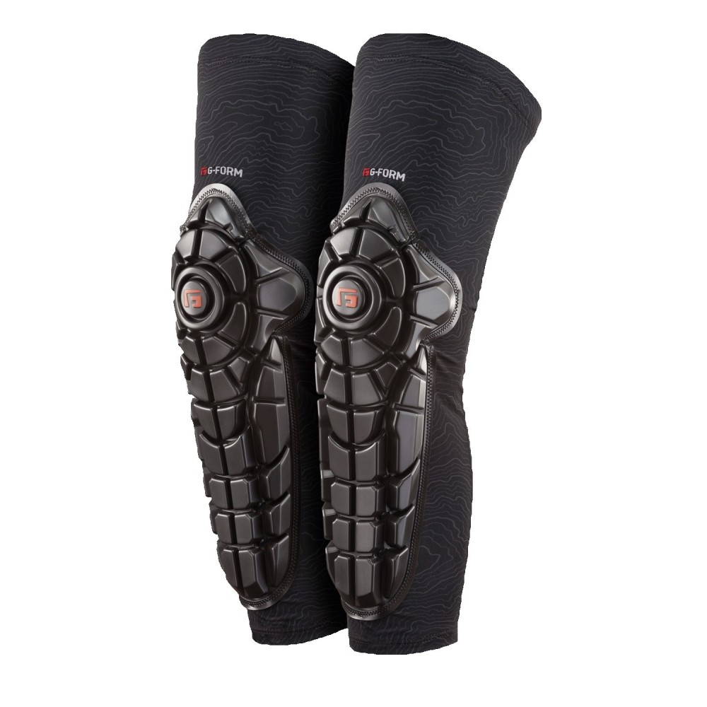 G-FORM ELITE KNEE-SHIN GUARD YOUTH BLACK / TOPO BLACK