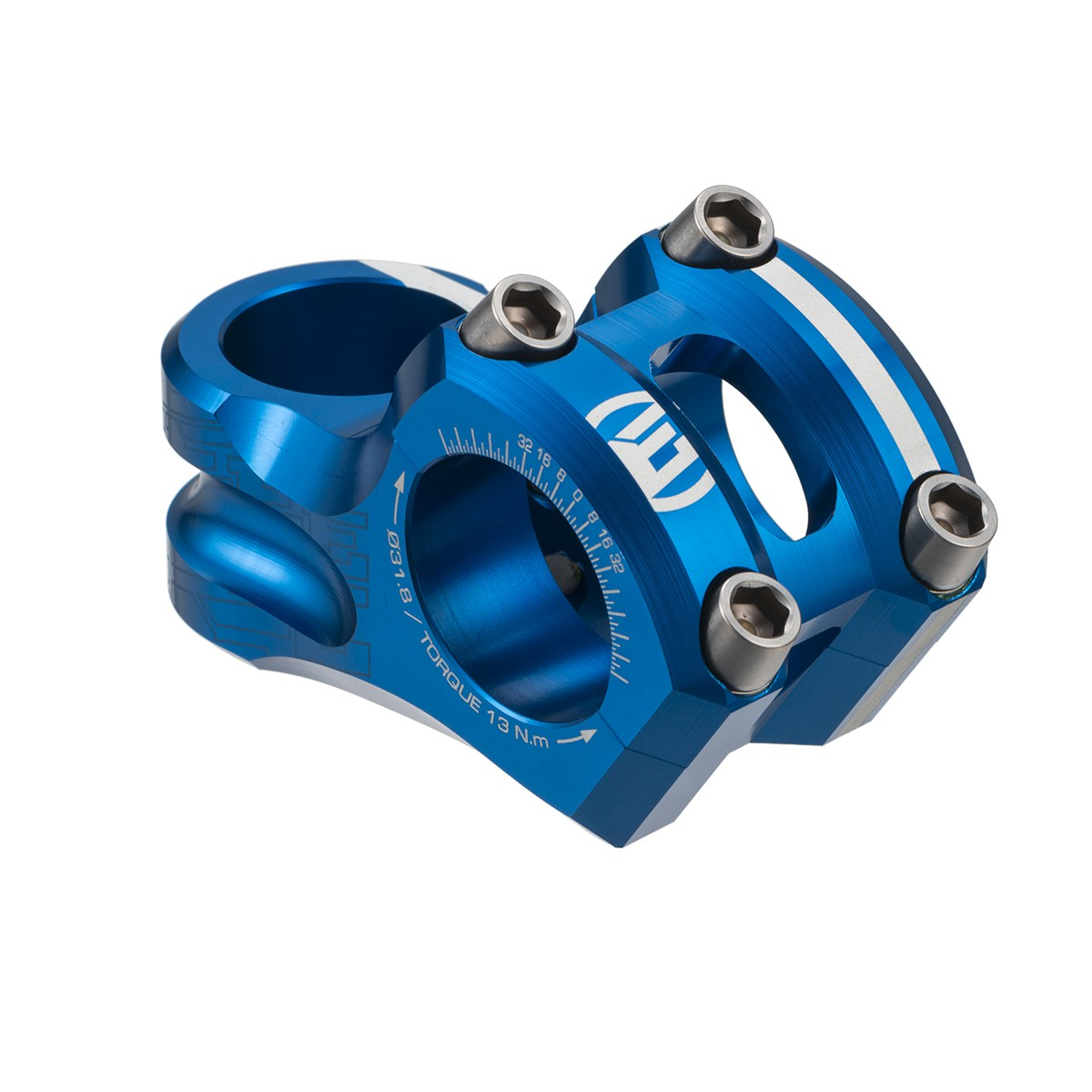 ELEVN 31.8MM OVERBITE STEM 1-1/8""