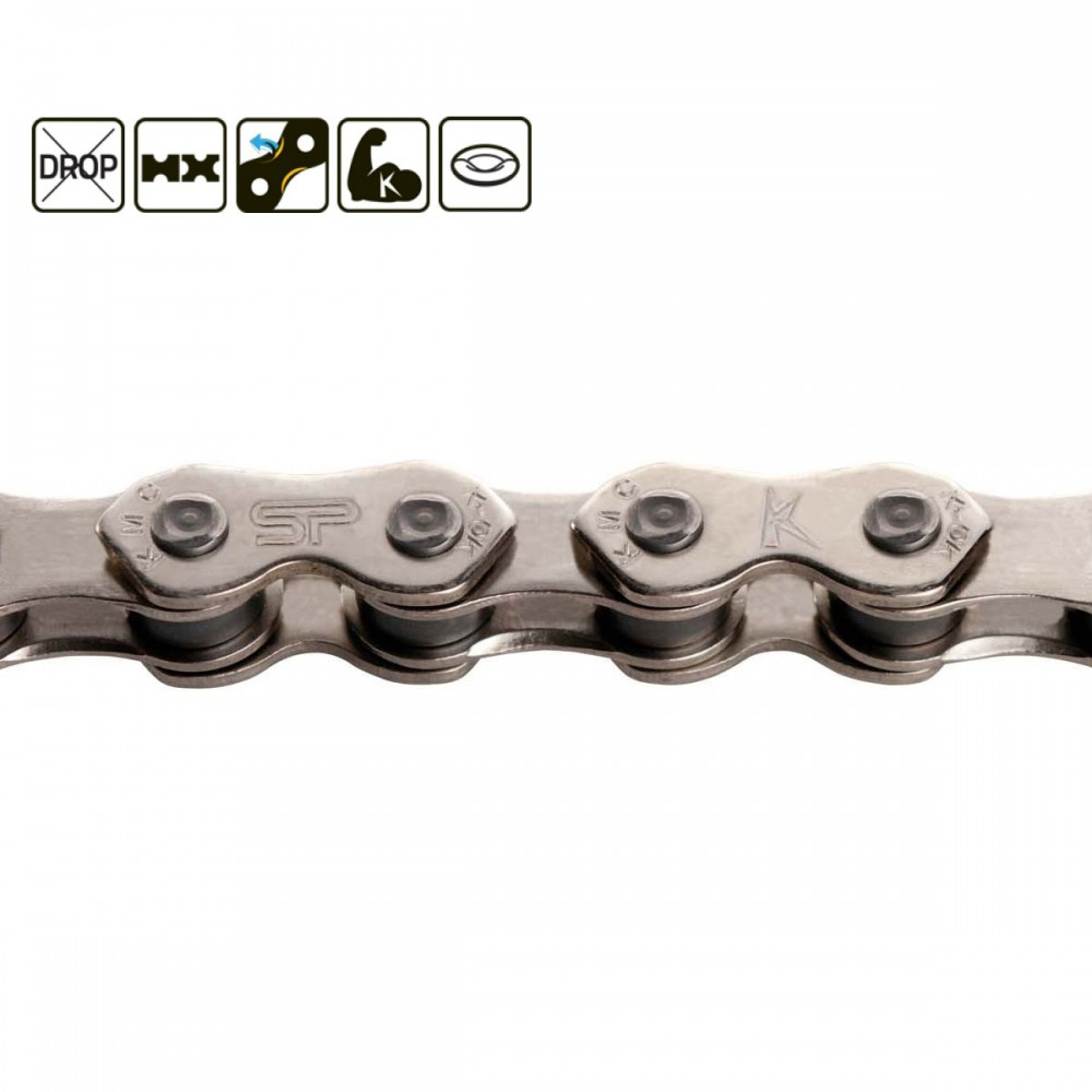 "KMC K1 WIDE 1/8"" CHAIN"