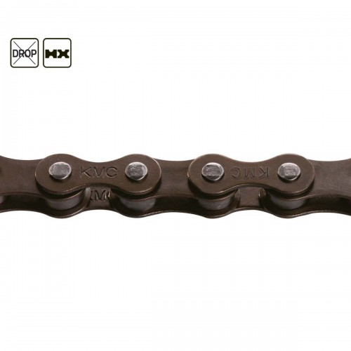 "KMC Z1 NARROW 3/32"" CHAIN BROWN"