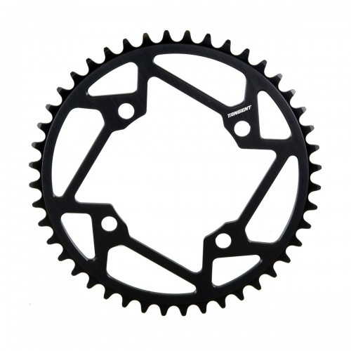TANGENT 4 BOLT CHAINRING 104MM BLACK