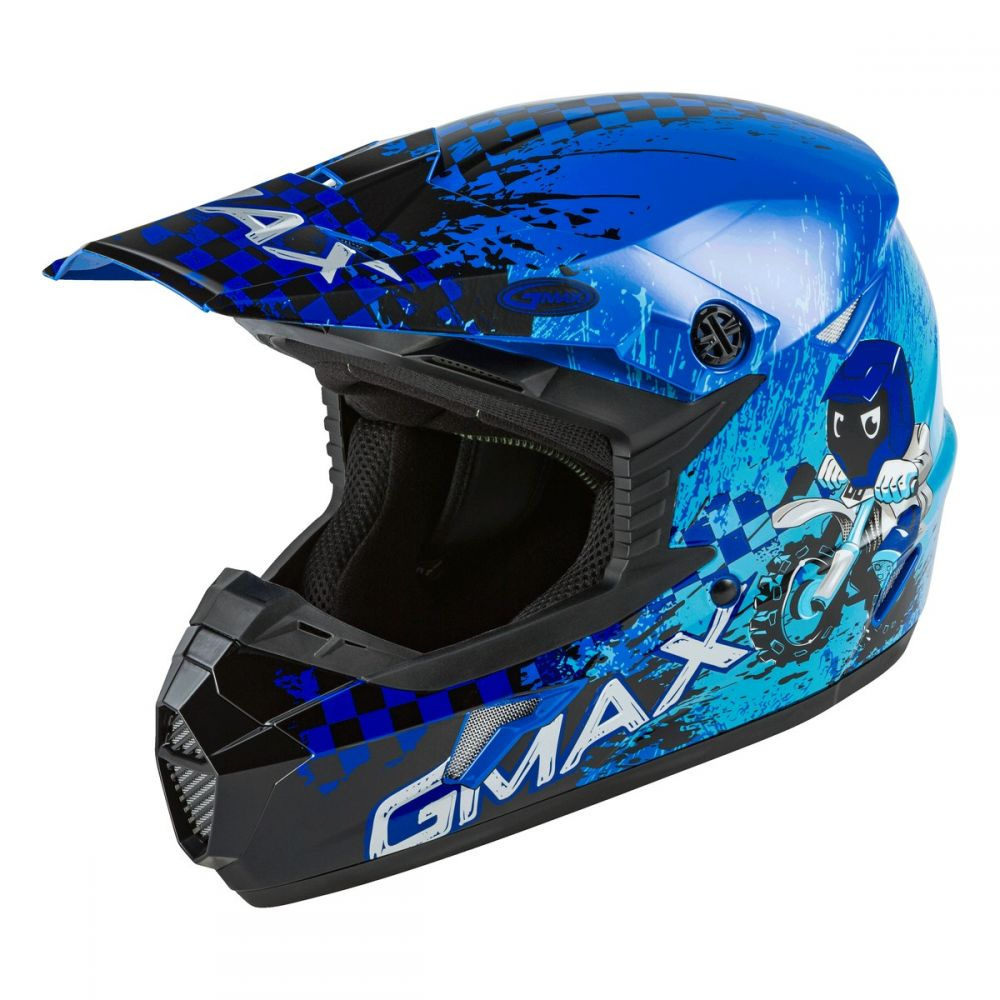 GMAX YOUTH MX-46Y ANIM8 HELMETS