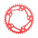 TANGENT 5 BOLT CHAINRING 110MM RED