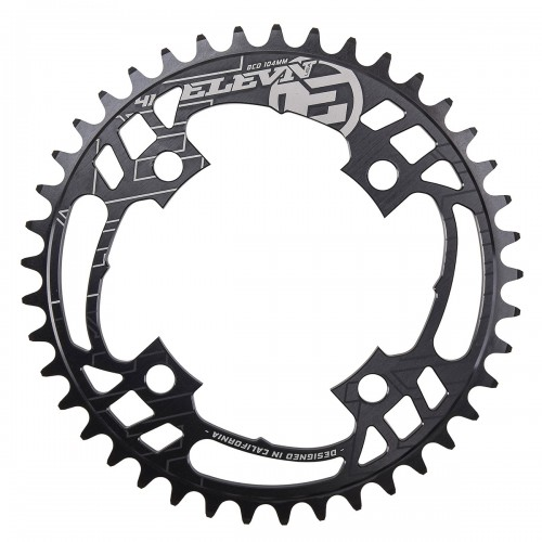 ELEVN FLOW CHAINRING 104MM BLACK