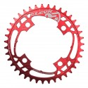 ELEVN FLOW CHAINRING 104MM RED