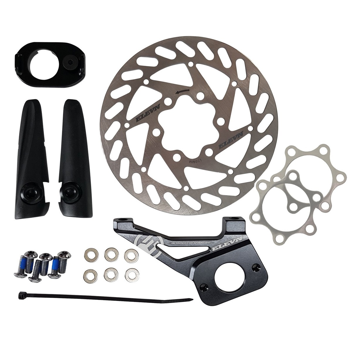 DISC KIT 120MM ELEVN - CHASE ACT 1.0 20MM AXLE