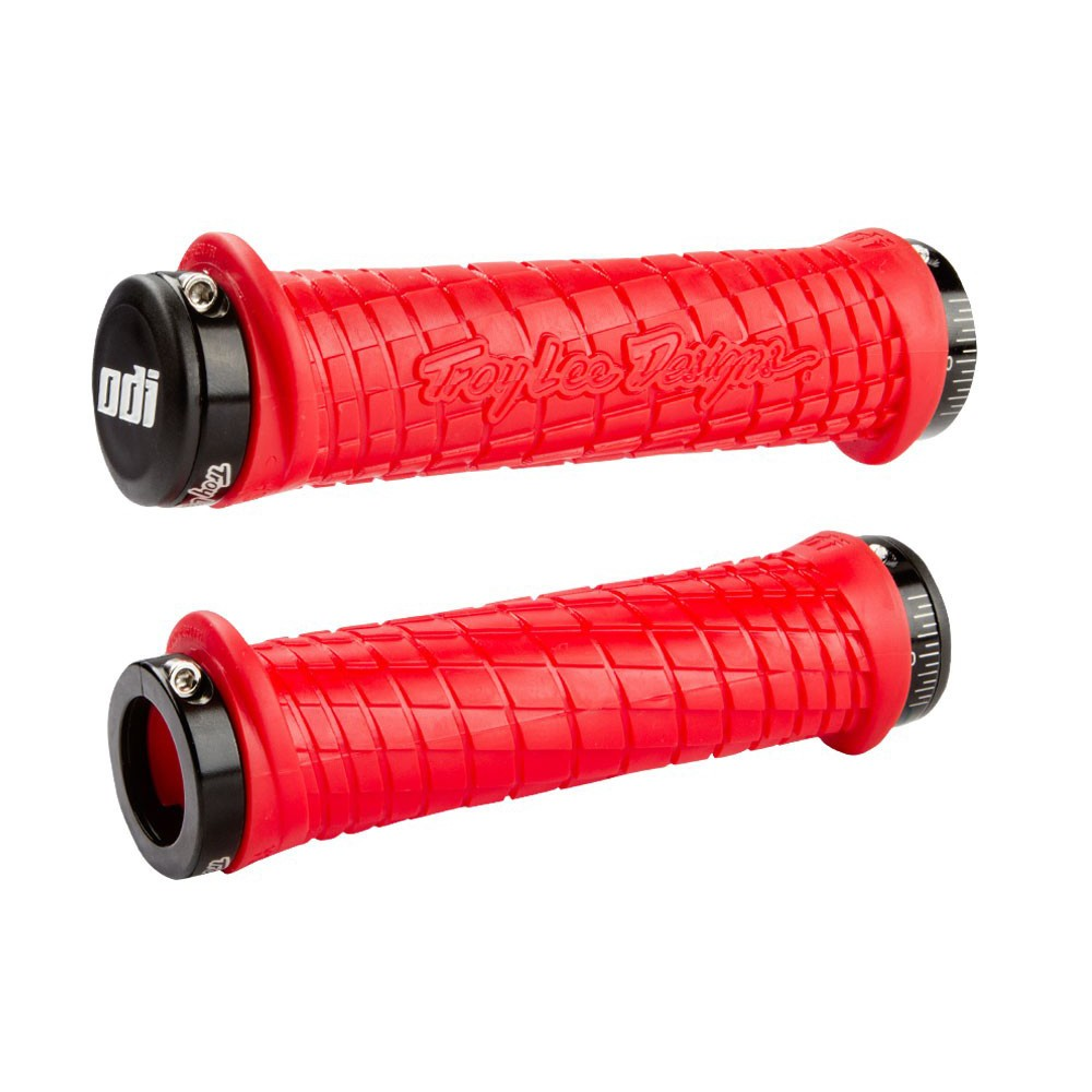 ODI TROY LEE DESIGNS SIGNATURE FLANGELESS LOCK-ON GRIPS