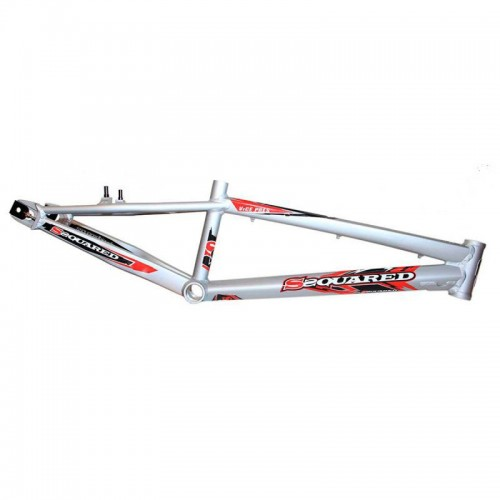 SSQUARED VP SILVER / RED FRAME