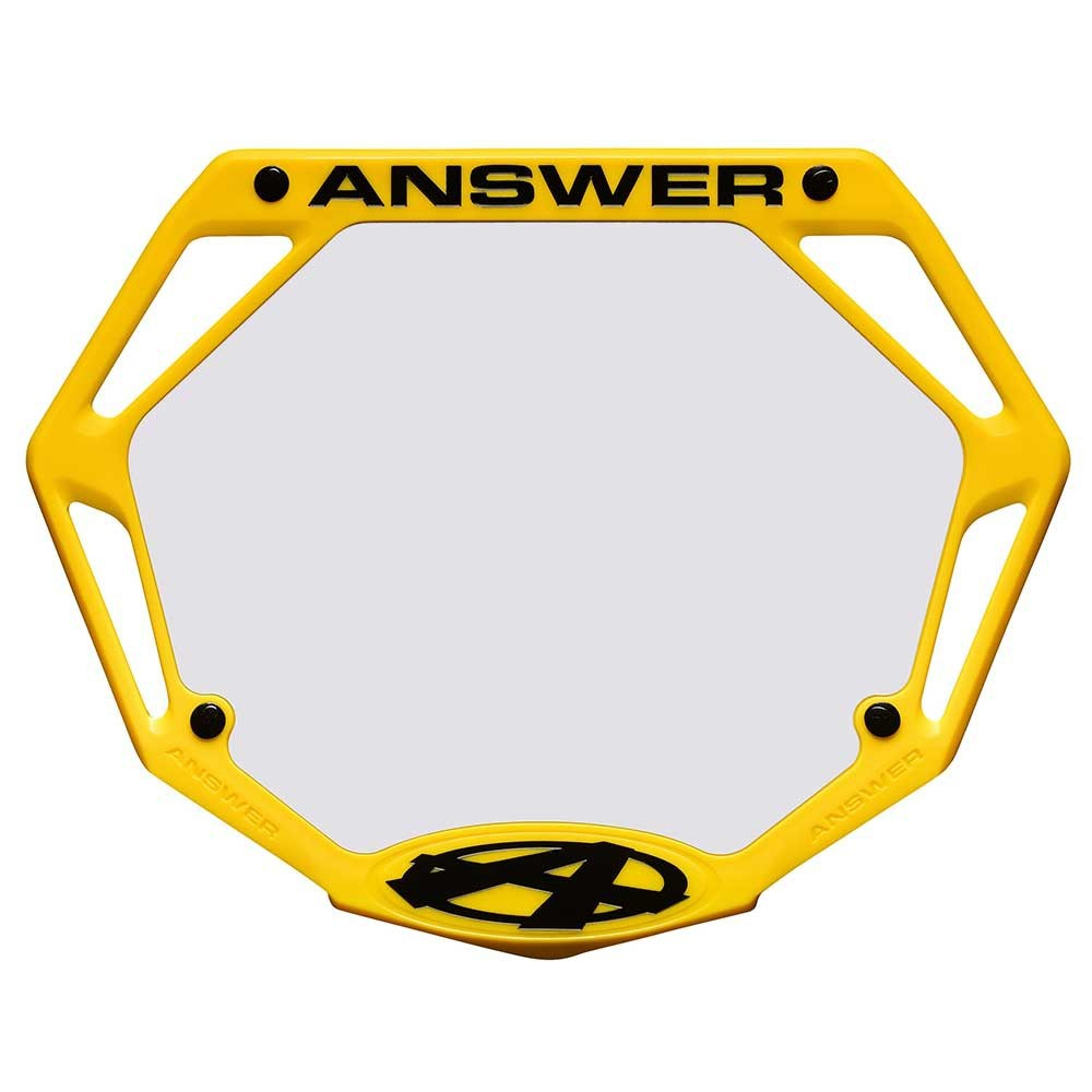 ANSWER BMX 3D NUMBER PLATE - PRO