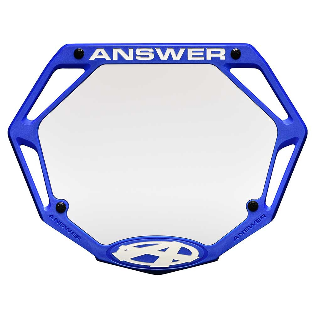 ANSWER BMX 3D NUMBER PLATE - MINI