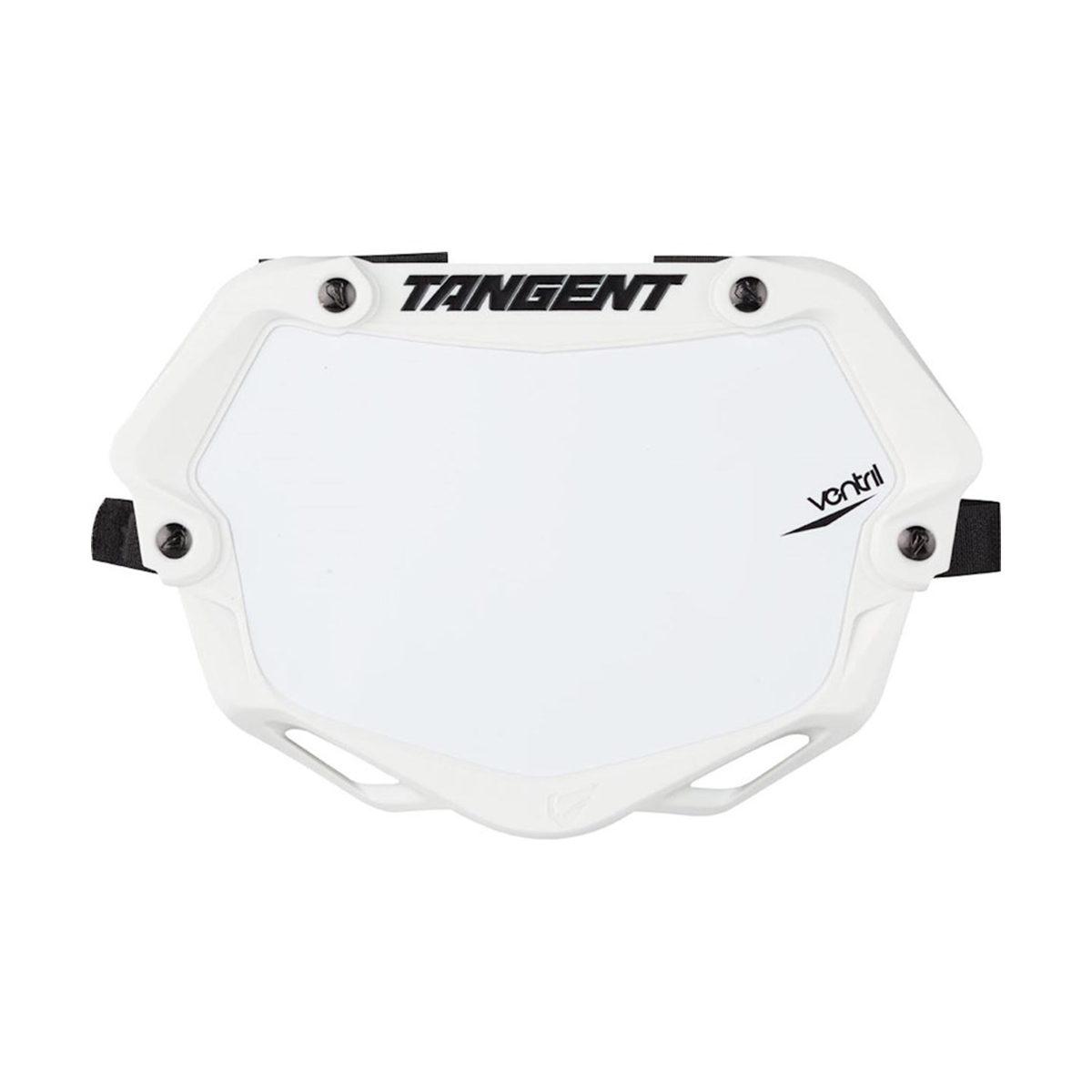 Tangent Pro Ventril 3D Number Plate//Chrome Blu//White