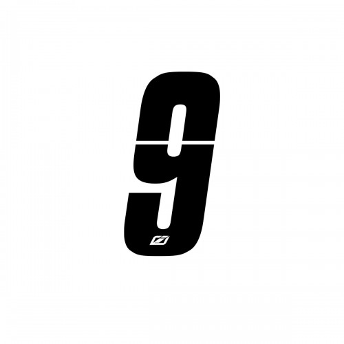 """SIDE PLATE NUMBERS INSIGHT BLACK 2"""""""
