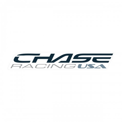 CHASE BIG STICKER 370x60MM DARK GREY
