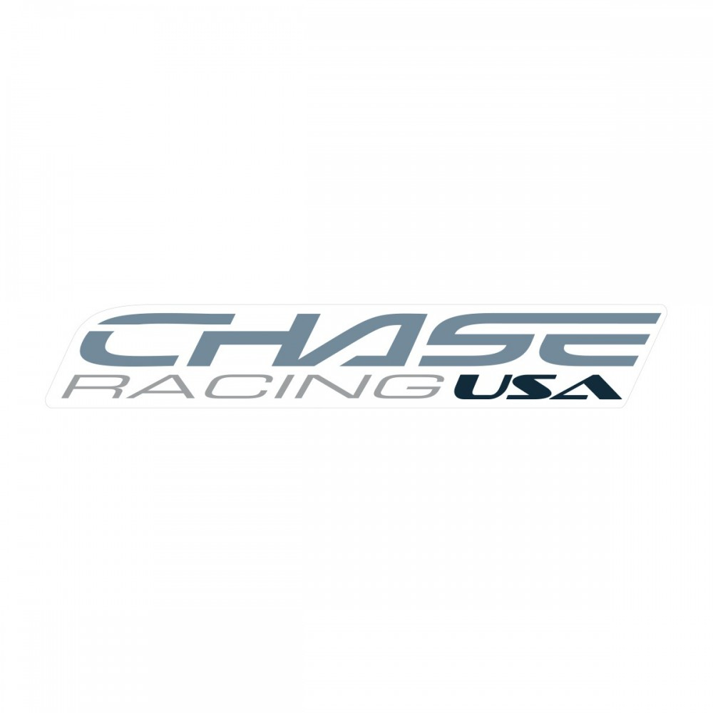 CHASE BIG STICKER 370x60MM LIGHTGREY