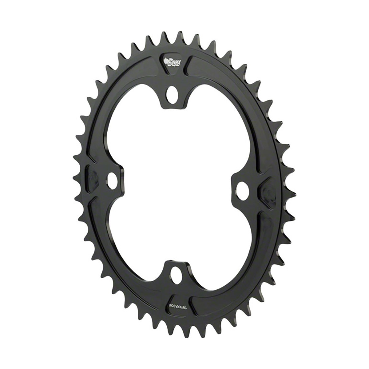 ONYX BMX CHAINRING 4 BOLT 104MM ANODIZED BLACK