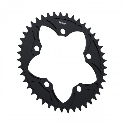 ONYX BMX CHAINRING 5 BOLT 110MM ANODIZED BLACK