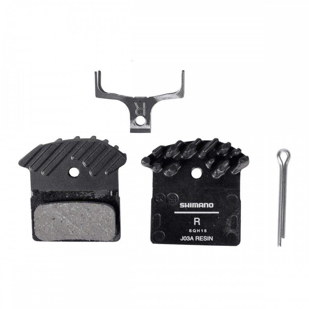 SHIMANO RESIN DISC BRAKE PADS (J03A)