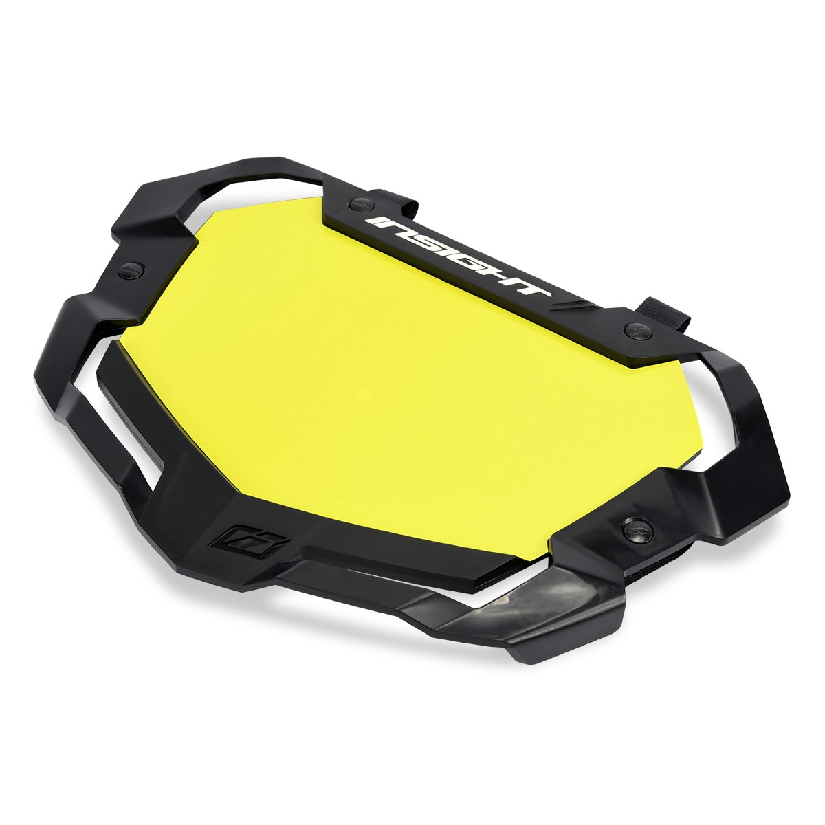 INSIGHT 3D VISION2 NUMBER PRO PLATE YELLOW BACKGROUND
