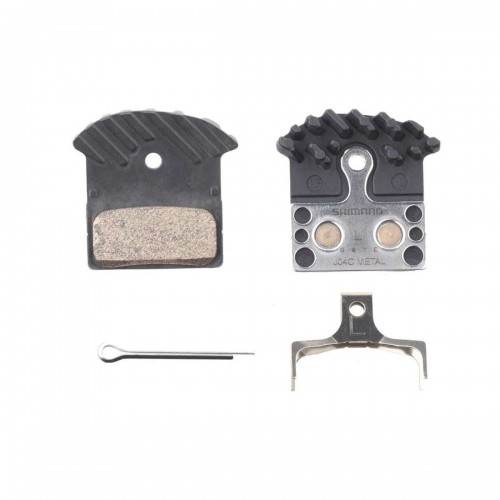 SHIMANO METAL DISC BRAKE PADS (J04C)