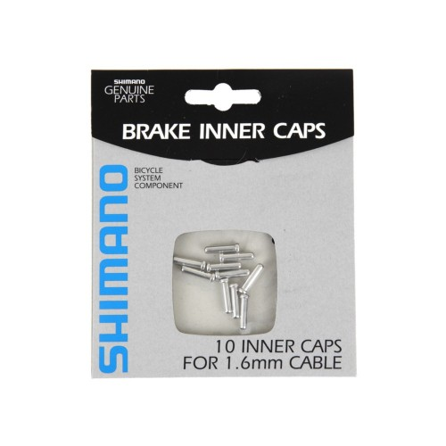 SHIMANO BRAKE INNER CABLE END CAPS (1.6mm) 10pcs