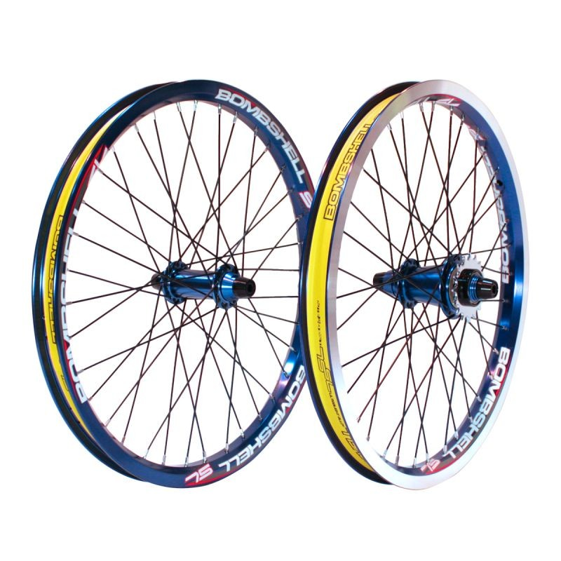 "BOMBSHELL ONE80 PRO PLUS WHEELSET 20""x1.75"""