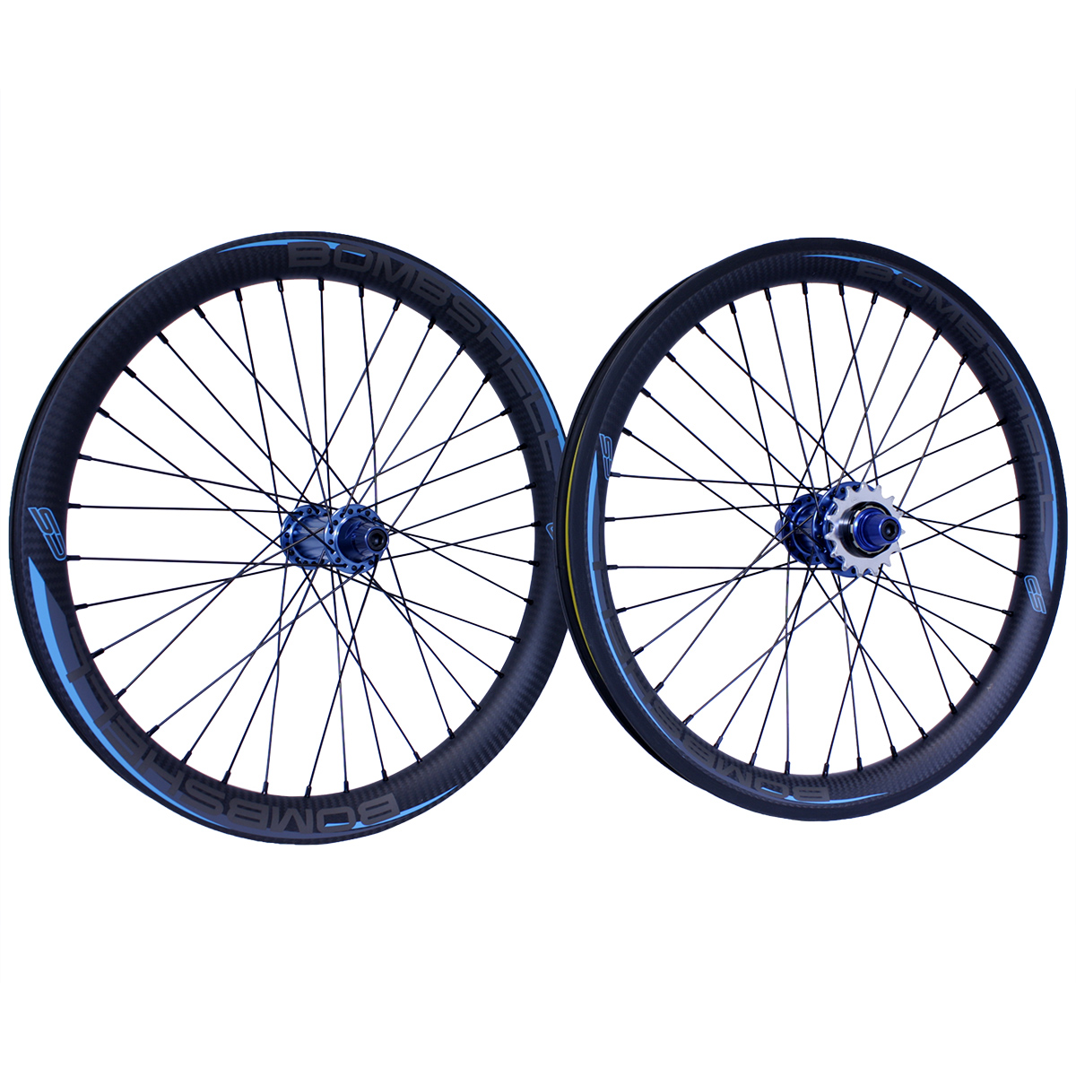 "Bombshell CSO CARBON PRO LIGHT 20x1.65"" WHEELSET 28H"