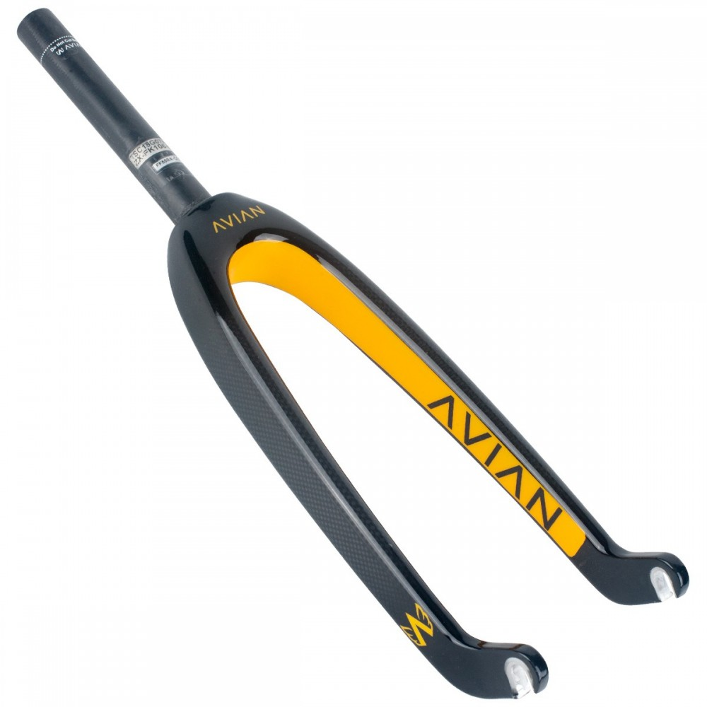 "AVIAN VERSUS YOUTH 10MM 20"" CARBON FORK"