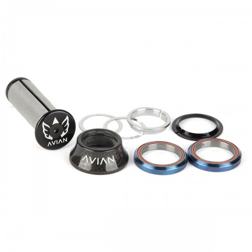 "AVIAN CARBON INTEGRATED HEADSET 1-1/8"" 18MM TOP COVER"