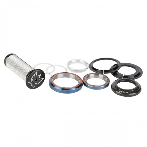 "AVIAN CARBON INTEGRATED HEADSET 1-1/8"" TO 1.5"" 8MM TOP COVER"