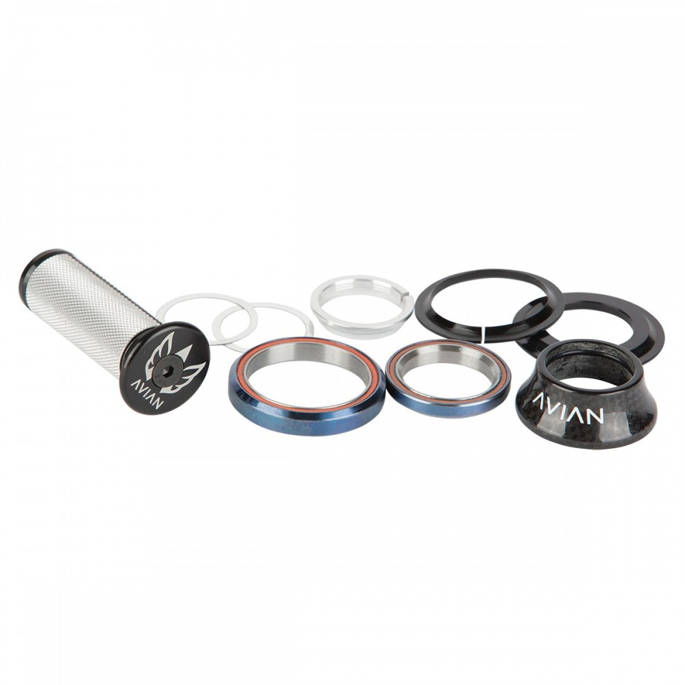 "AVIAN CARBON INTEGRATED HEADSET 1-1/8"" TO 1.5"" 18MM TOP COVER"