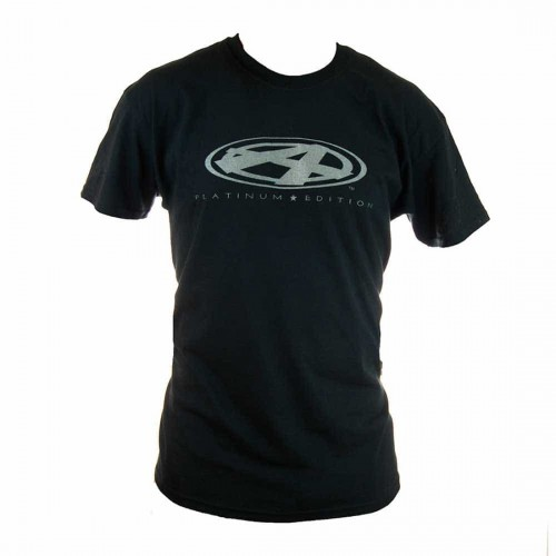 ANSWER PLATINUM T-SHIRTS BLACK