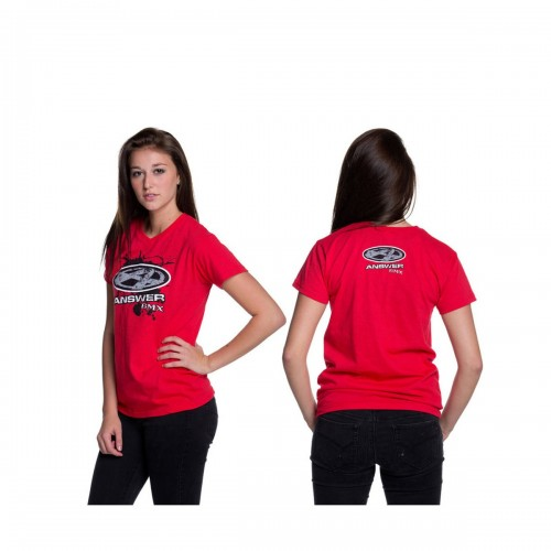 ANSWER LADIES V-NECK TEE