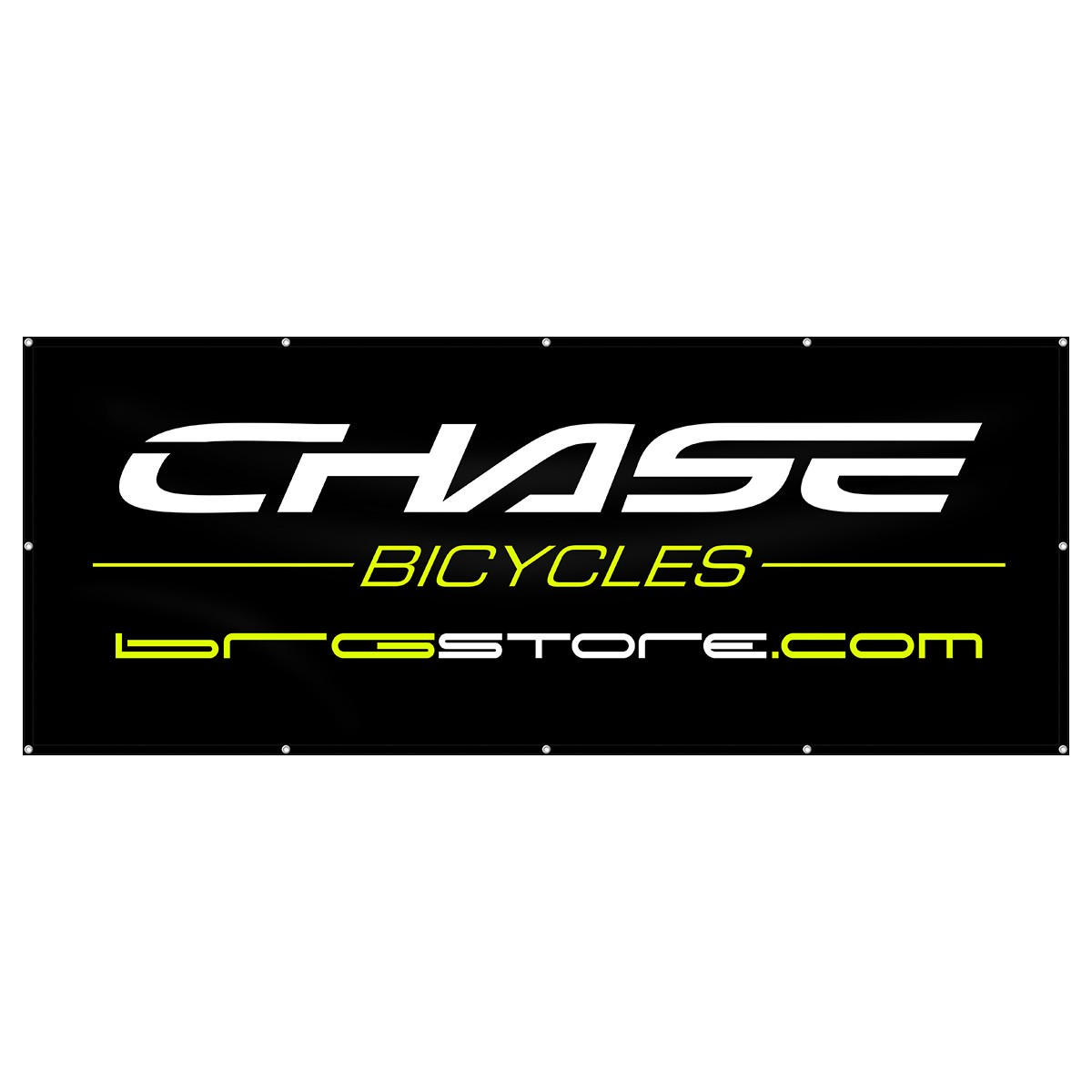 CHASE / BRG STORE BANNER 8x3ft BLACK