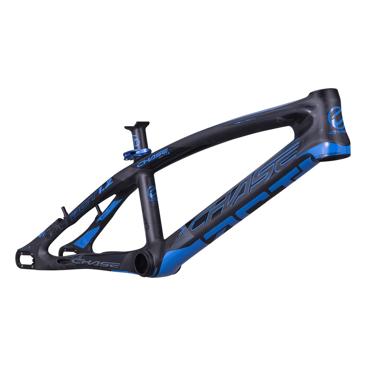 CHASE ACT1.2 CARBON FRAME BLACK/BLUE