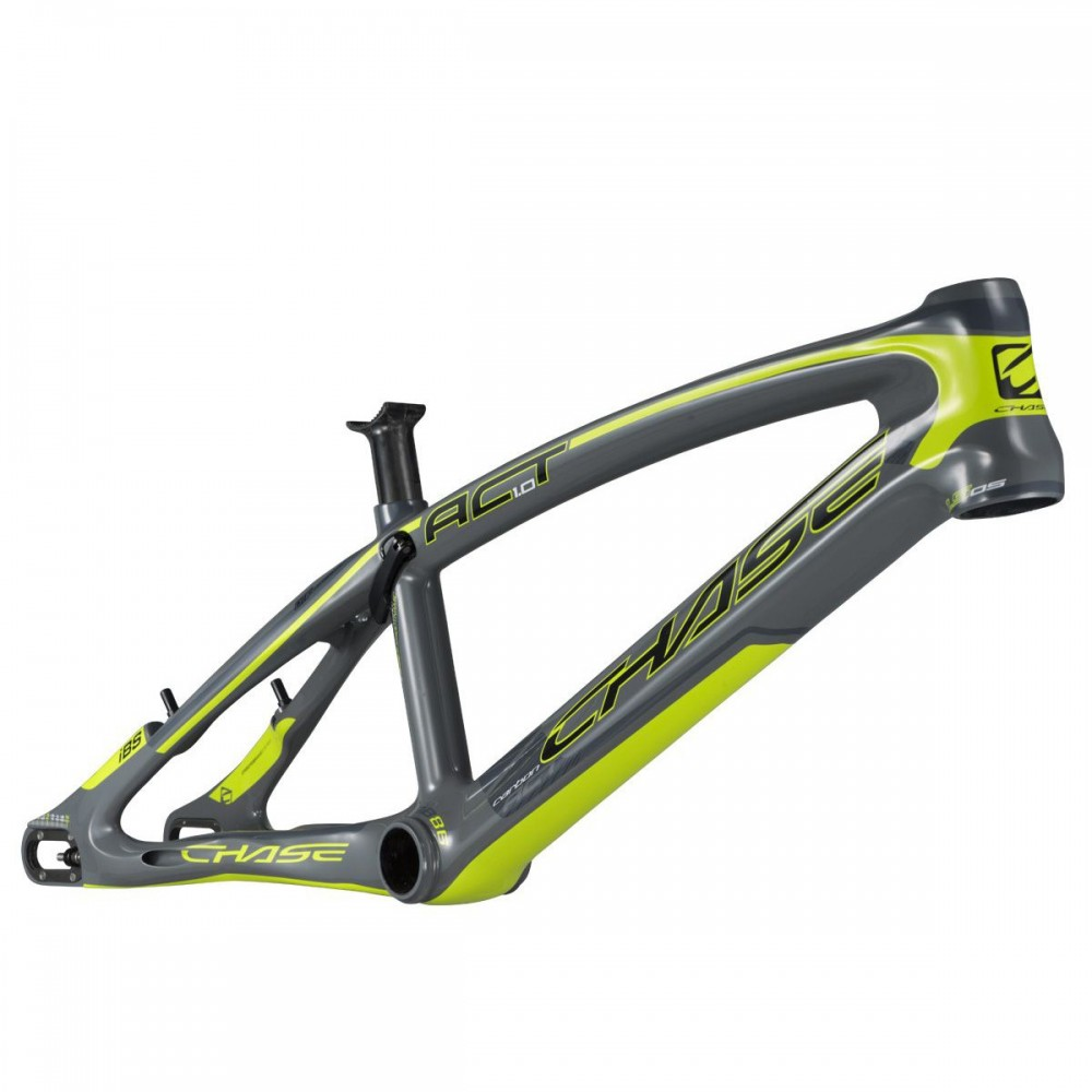 CHASE ACT1.0 FRAME GLOSSY GREY/NEON YELLOW
