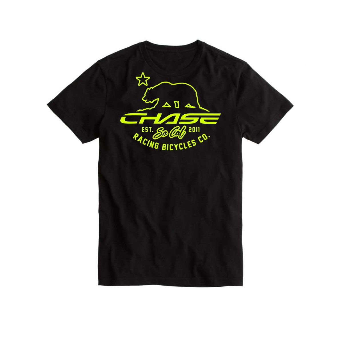 CHASE BICYCLES BEAR T-SHIRT
