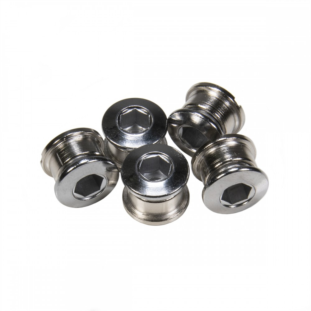 PACK 5 CHAINRING BOLTS INSIGHT 6.5X4MM CHROMOLY