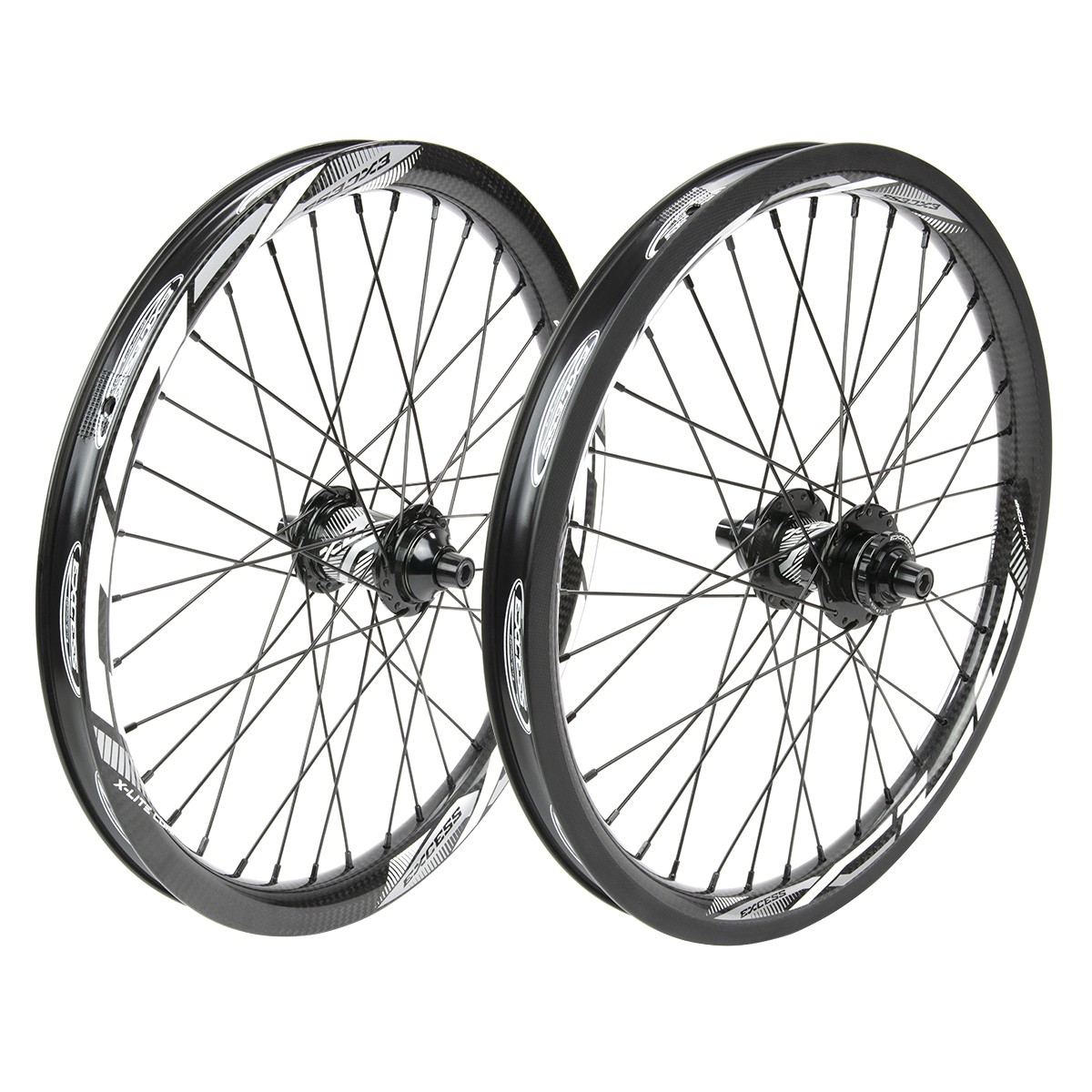 EXCESS XLC-3 406 36H CARBON WHEELSET