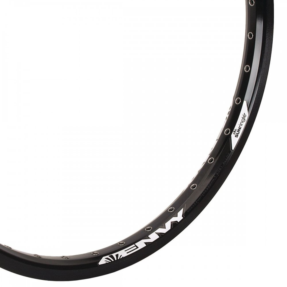 SUN RIMS ENVY 406 36H REAR RIM BLACK