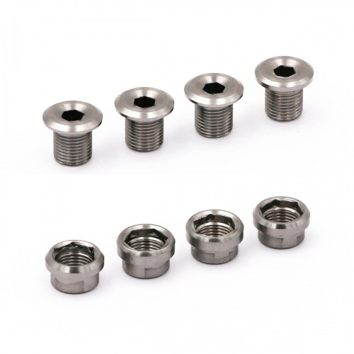 RENNEN INFINITY CHAINRING TITANIUM BOLTS 4PCS
