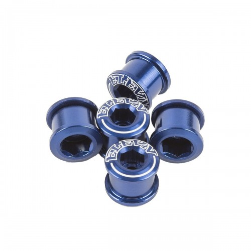 PACK CHAINRING SCREW ELEVN 8.5X4MM ALLOY DOUBLE CLAMPING